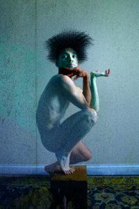 Blue Voodoo, digital image • archival print, 12x18, 2015