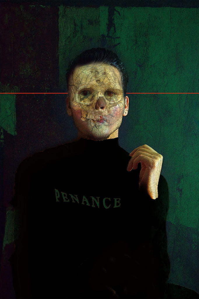Penance, digital image • archival print, 12x18, 2015