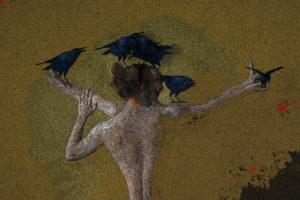 Scarecrow III, digital image • archival print, 18x12, 2016