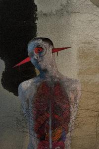 The Hurt's Inside, digital image • archival print, 12x18, 2016