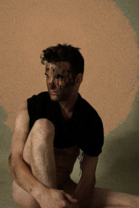 The Spotted Portrait, digital image • archival print, 12x18, 2015