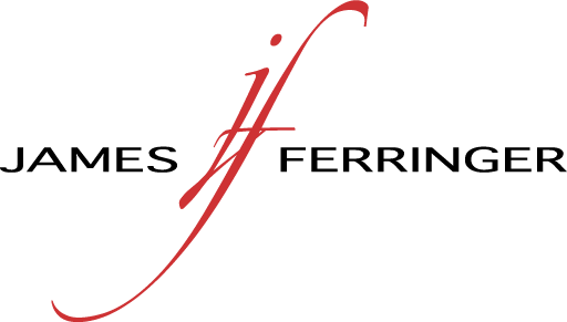 James Ferringer artist logo